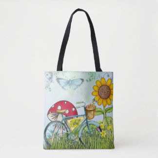 O bolsa da bicicleta