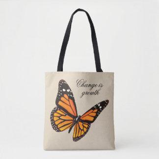 O bolsa da borboleta da tangerina