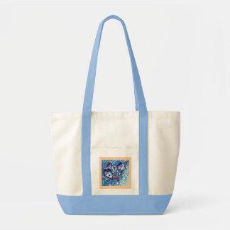 O bolsa da borboleta - luz - azul