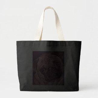 O bolsa da cara do filhote de cachorro do Pug
