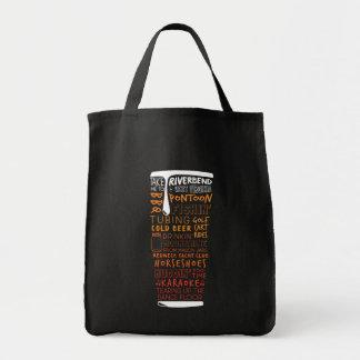 O bolsa da colagem da palavra da cerveja de