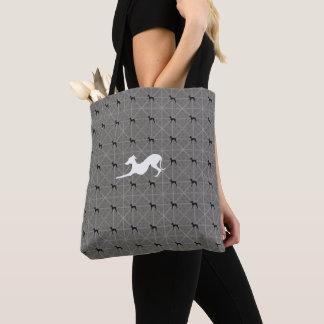 O bolsa da compra de Iggy do cão do galgo italiano