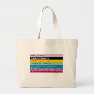 O bolsa da compra do logotipo do slogan
