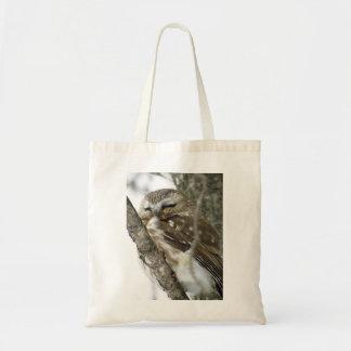 O bolsa da coruja da neve