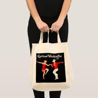 O bolsa da dança da salsa da samba