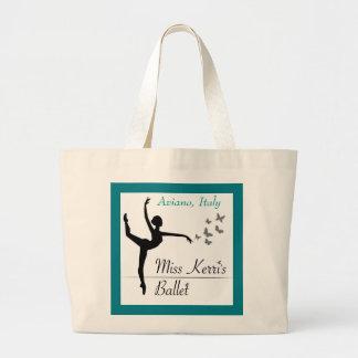 O bolsa da dança do programa do balé de Aviano
