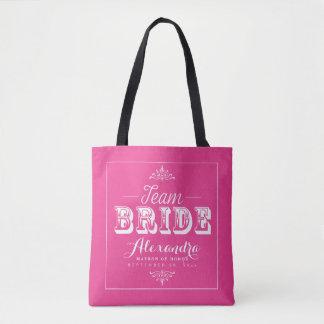 O bolsa da festa de casamento da tipografia da