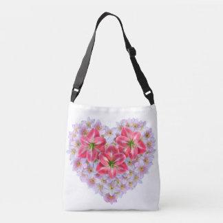 O bolsa da flor do amaryllis da forma do coração