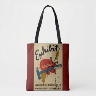 O bolsa da galeria de arte da exibição