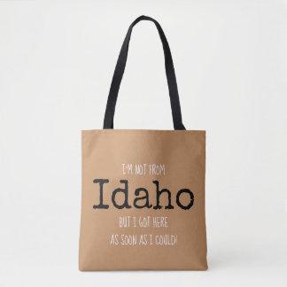 O bolsa da lembrança do saco do estado de Idaho