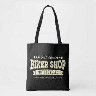 O bolsa da loja da bicicleta do vintage