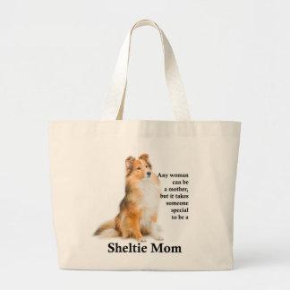 O bolsa da mamã de Sheltie