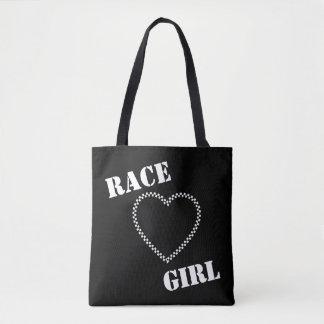 O bolsa da menina da raça