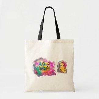 O bolsa da mostra de Lynn Vance com Lynn