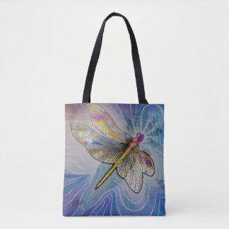 O bolsa da mulher da libélula