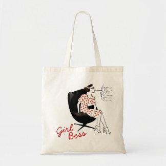 O bolsa da mulher do estilo do vintage do chefe da