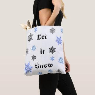 O bolsa da neve do Natal