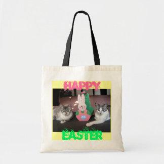 O bolsa da páscoa do gatinho