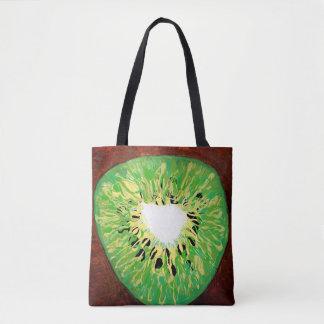 O bolsa da pintura do quivi