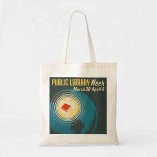 """""""O bolsa da semana da biblioteca pública"""" do"""