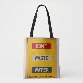 """O bolsa das águas residuais do vintage """"não faz"""""""