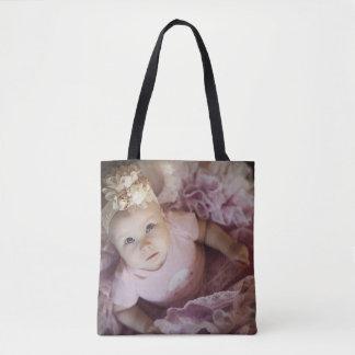 O bolsa das canvas do bebê da bailarina