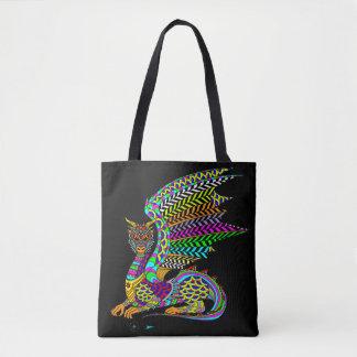 O bolsa das canvas do espírito do dragão
