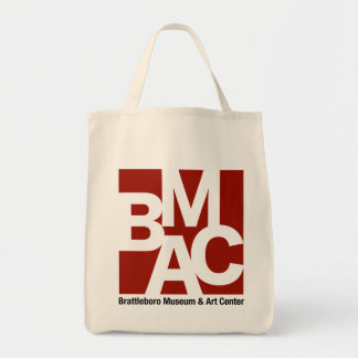 O bolsa das canvas do logotipo de BMAC