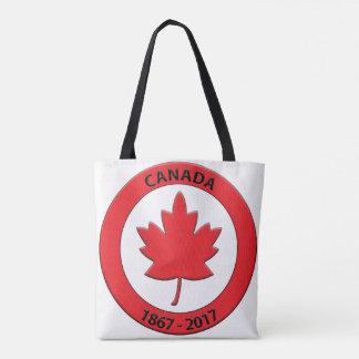 O bolsa de Canadá Sesquicentennial que comemora