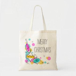 O bolsa de canto do orçamento do Natal dos Baubles