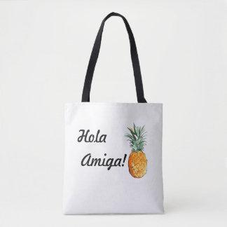 O bolsa de Hola Amiga