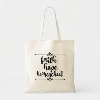 O bolsa de Homeschool da esperança da fé