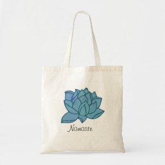 O bolsa de Namaste Lotus azul