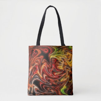 O bolsa de néon dos vasos