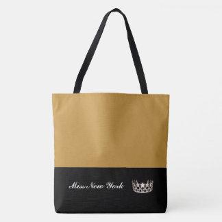 O bolsa de prata Saco-Grande Rod dourado da coroa