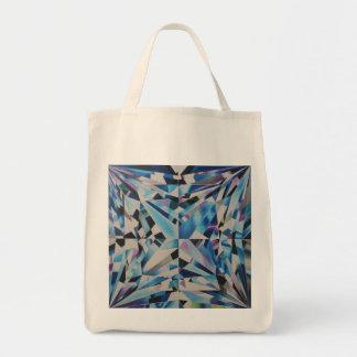 O bolsa de vidro do mantimento do diamante