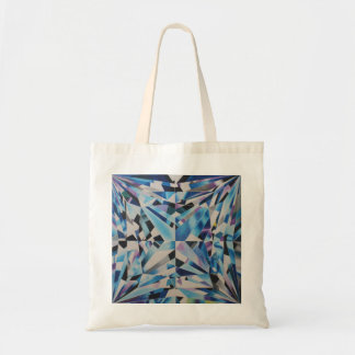 O bolsa de vidro do orçamento do diamante