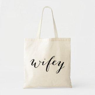 O bolsa de Wifey para a lua de mel ou o casamento