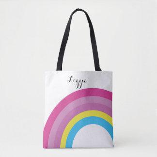 O bolsa do arco-íris da criança