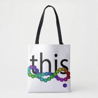 O bolsa do arco-íris da igualdade da diversidade