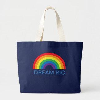 O bolsa do arco-íris da menina grande ideal
