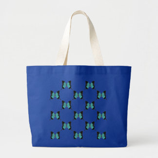O bolsa do azulejo da borboleta