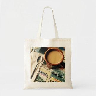 O bolsa do café da manhã