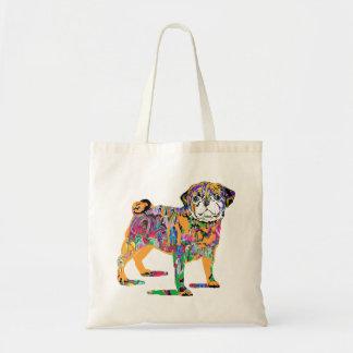 O bolsa do cão do pug dos grafites