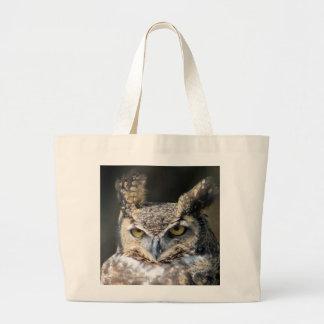O bolsa do carregar com coruja Excelente-Horned