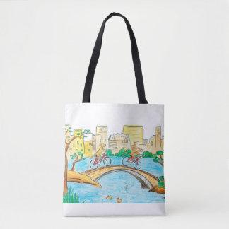 O bolsa do Central Park do passeio de Rhodesian