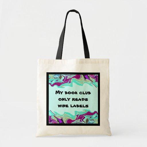 o bolsa do clube de leitura do vinho