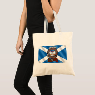O bolsa do crachá do clã de Cameron