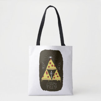 O bolsa do culto da pizza