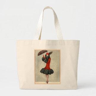 O bolsa do Flapper do art deco do vintage/jumbo da